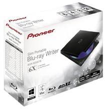 Pioneer BDR-XD05TB 6X Slim Portable USB 3.0 BD/DVD/CD Writer
